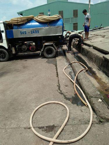 dịch vụ hút hầm cầu tại Long An